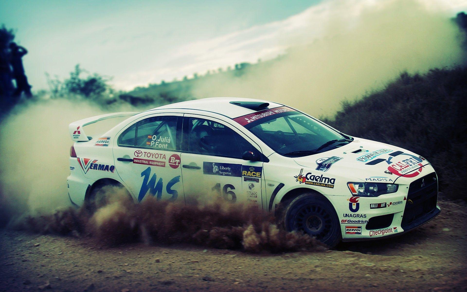 Pin by zajawka on dust | Pinterest | Mitsubishi lancer, Rally car ...