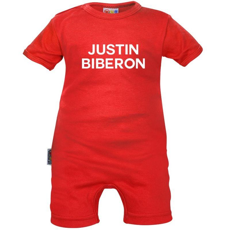 Barboteuse bébé originale : Justin BIBERON