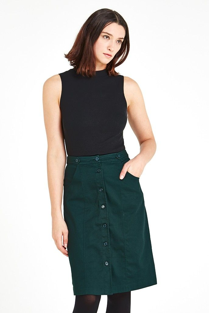 Women skirts for black straight