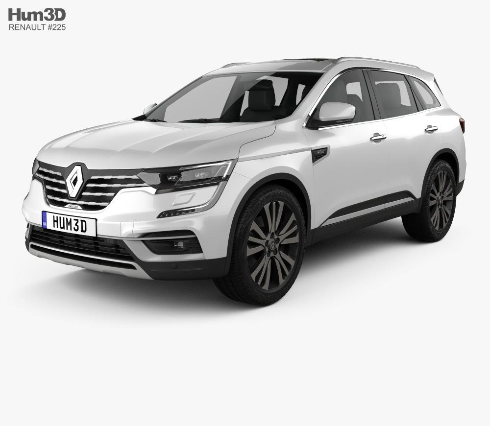 3d Model Of Renault Koleos 2020 3d Model Car 3d Model Renault