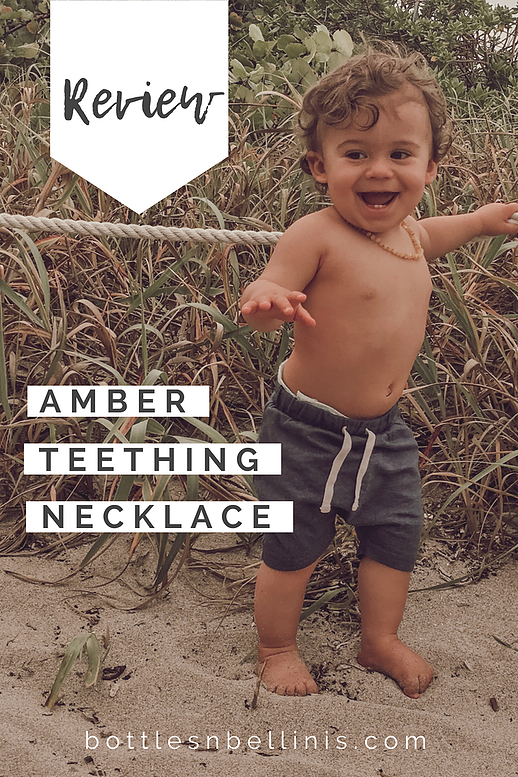 B B Review Amber Teething Necklace Bottles Bellinis South