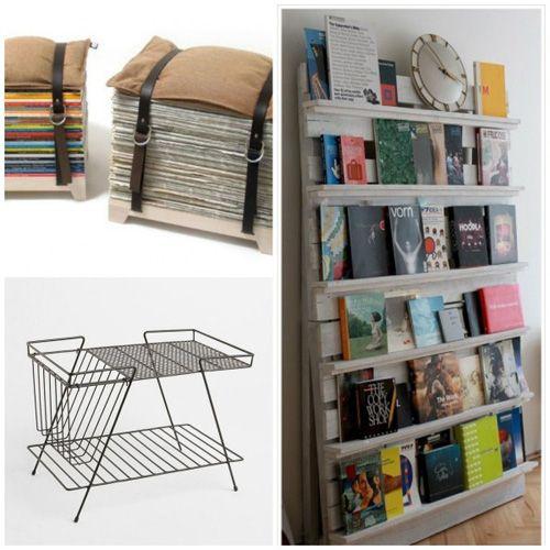 Magazine Storage Ideas Creative Magazine Storage Diy Furniture Upgrade Storage
