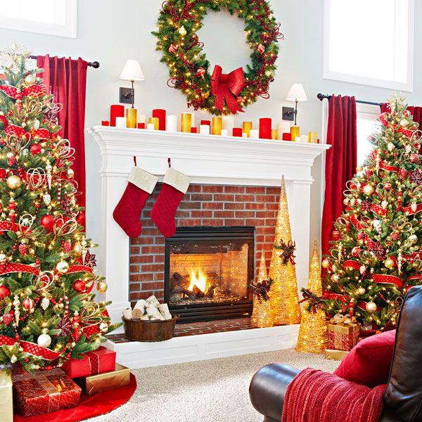 Christmas Decorating Tips Diy Christmas Fireplace Christmas Tree Fireplace Christmas Fireplace