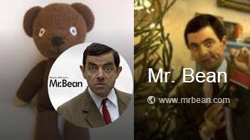 Mr.ビーンの落書き Google+ページ