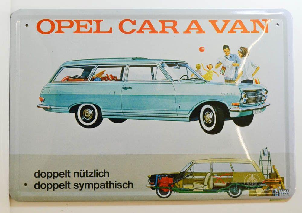 Opel Rekord A CarAVan Reklame (Bauzeit 196365) (mit