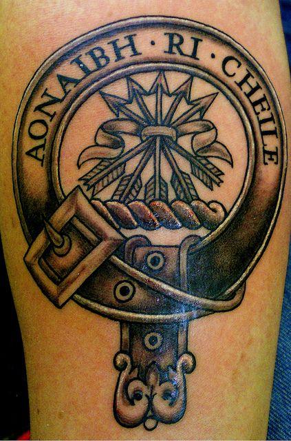 Clan Crest Tattoos Piercings Scottish Tattoos Family Crest