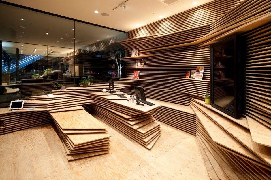 Kengo Kuma And Associates Project Multipurpose Creative Space In