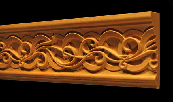 Decorative Wood Moulding Celtic Nouveau Wood Molding Wood Carving Patterns Wood