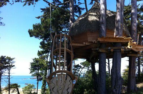 Coup de cœur pour la cabane du Camping des Chevrets tout près de St - camping a marseillanplage avec piscine