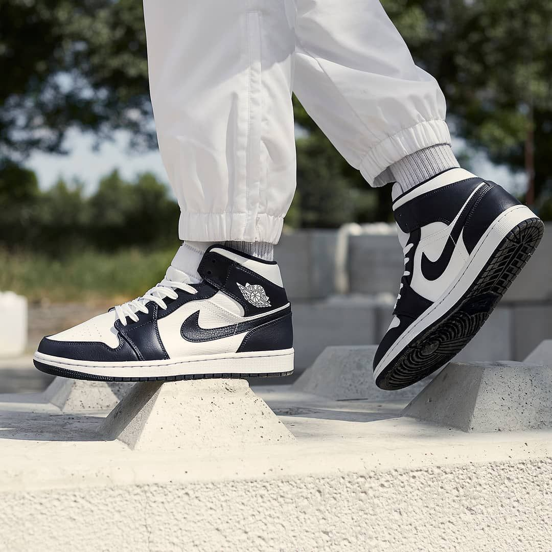 One Love The Jumpman23 Air Jordan 1 Mid Obsidian Is Back Shop