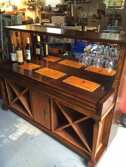 Grand Piano Turned into a Wet Bar! Buy panels for a similar project ...