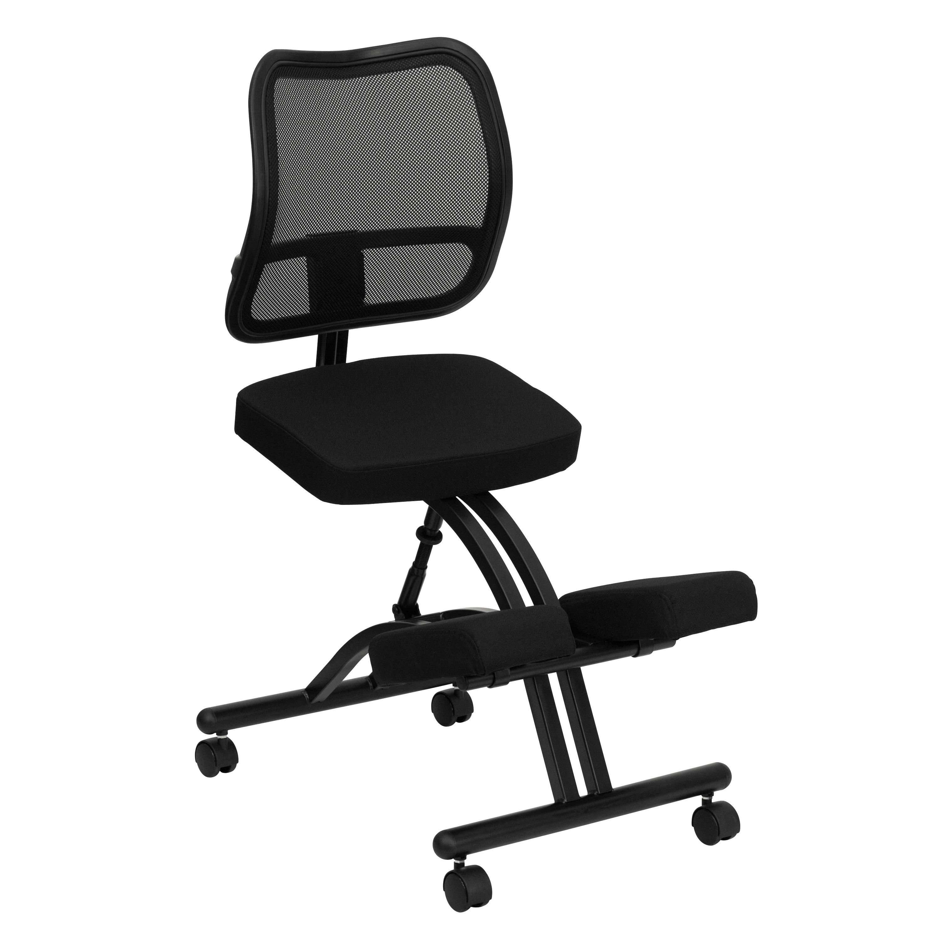 ergonomic kneeling office chairs. Regain Your Body\u0027s Natural Posture With This Ergonomic Kneeling Chair Included Back. Office Chairs F