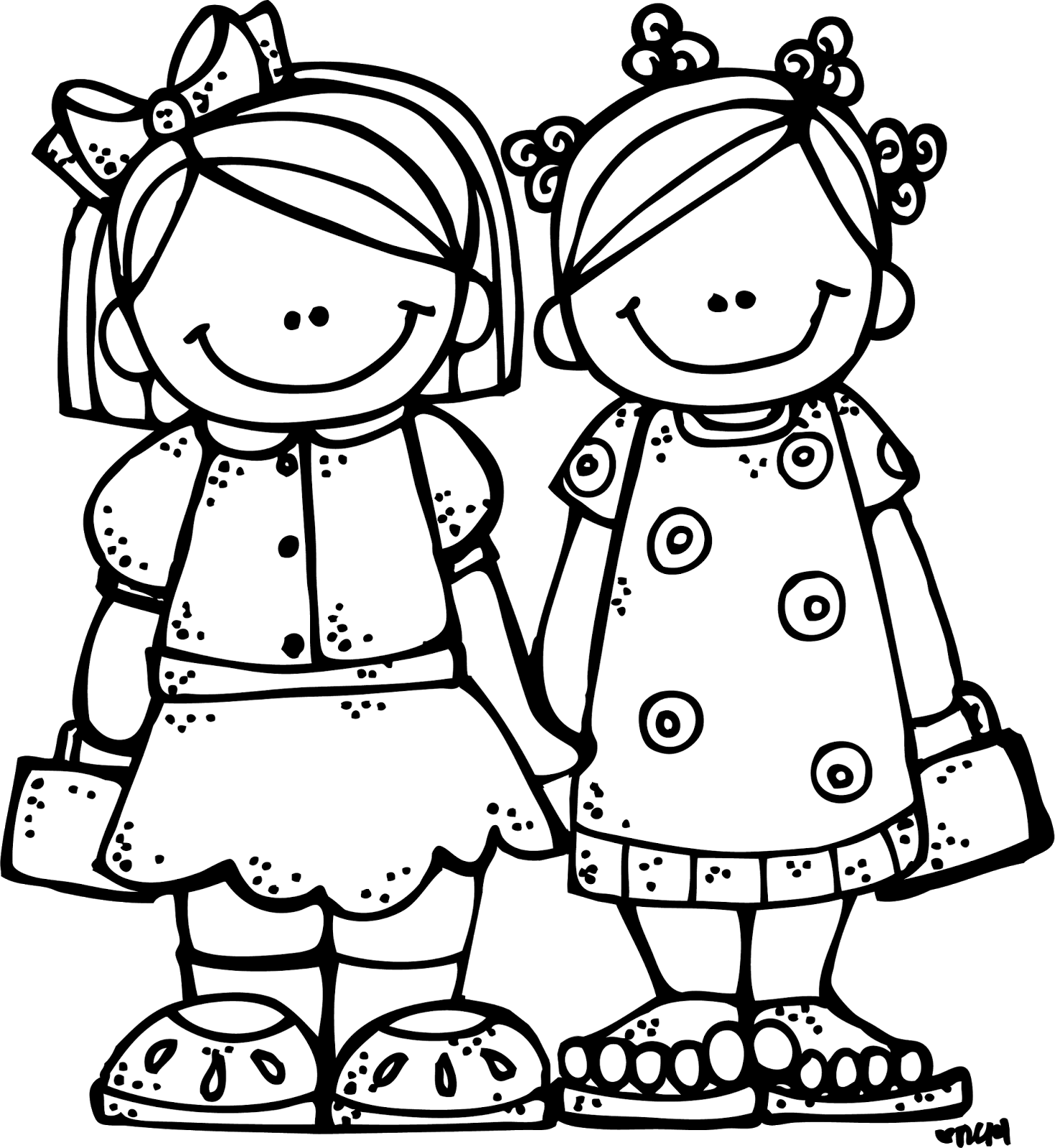 love your neighbor as yourself coloring page - several drawings of children can be found here