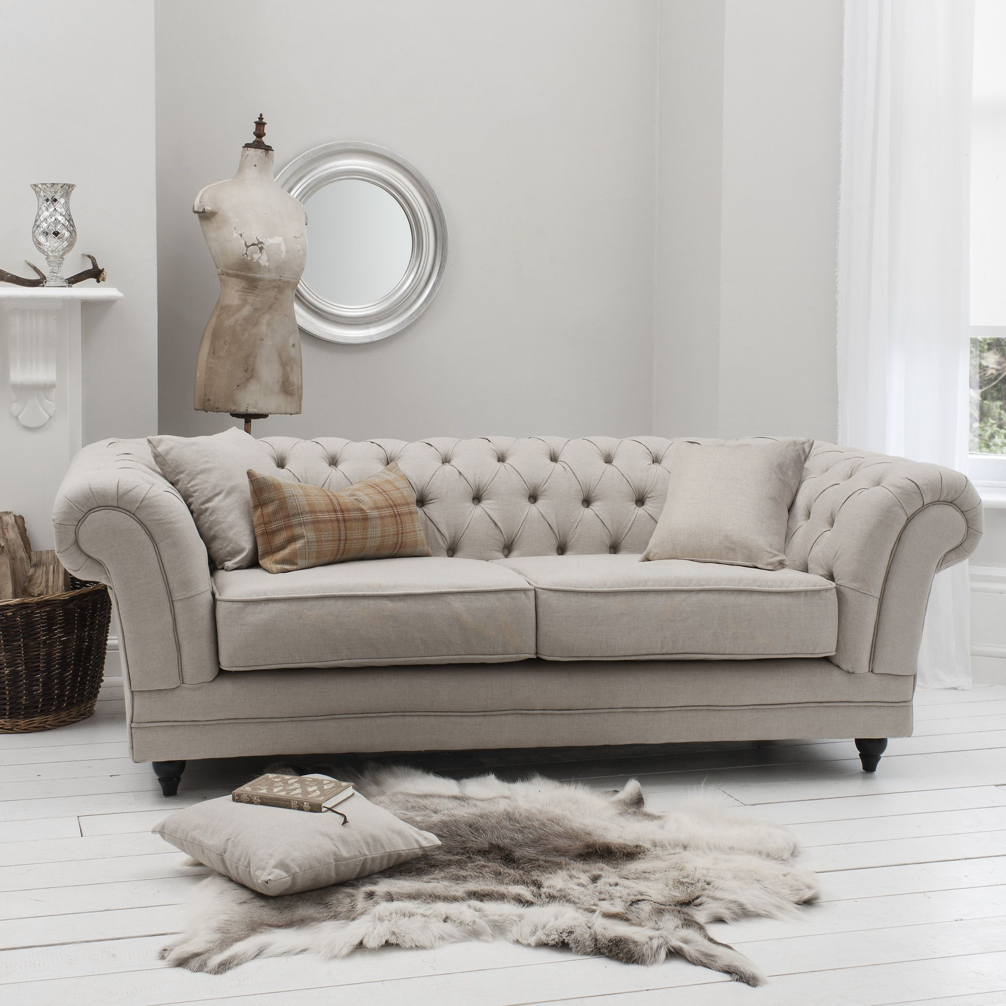 Chaise In Living Room Modern French Country Decor Francesca 3 Seater Sofa Wayfair Uk To Home Pinterest Fabric Chesterfield Loveseat