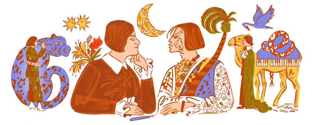 Celebrating Else LaskerSchüler in 2020 Google doodles