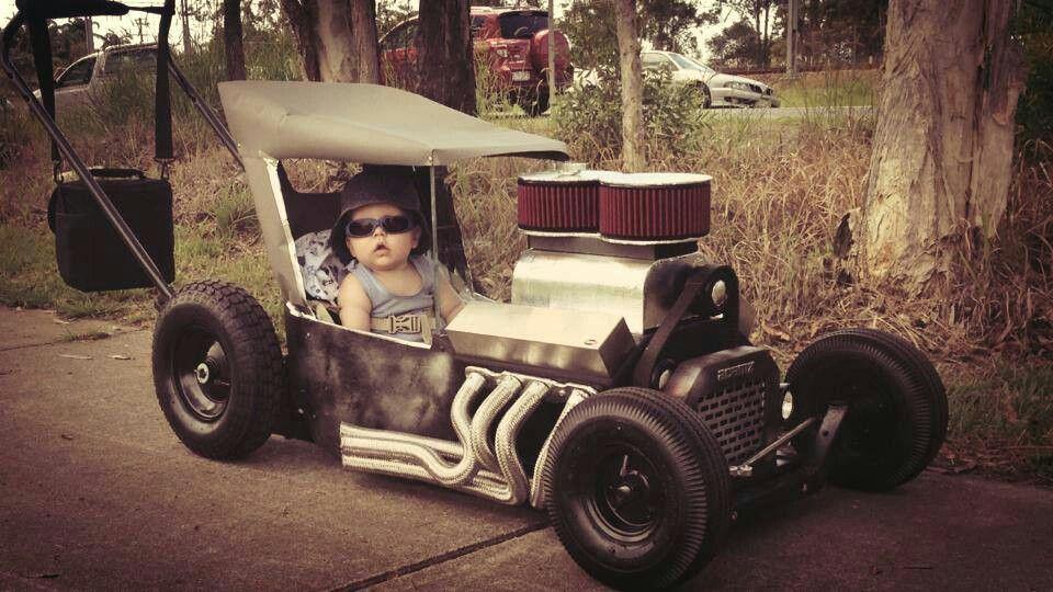 Hot Rod Stroller Pedal cars, Radio flyer wagons, Kids wagon