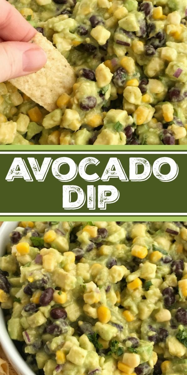 Avocado Dip #healthyavocadorecipes