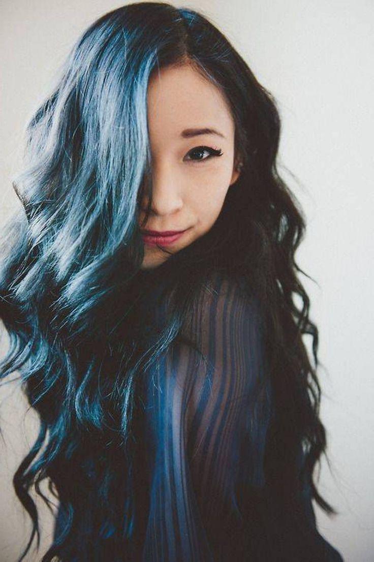 Hairchalk Hair Color For Black Hair Hair Color Asian Black Hair Dye