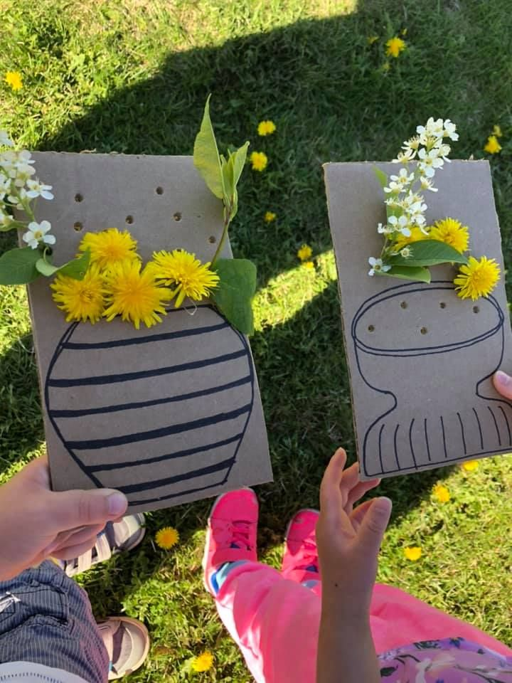 Photo of Flower Decorating Activity for Kids