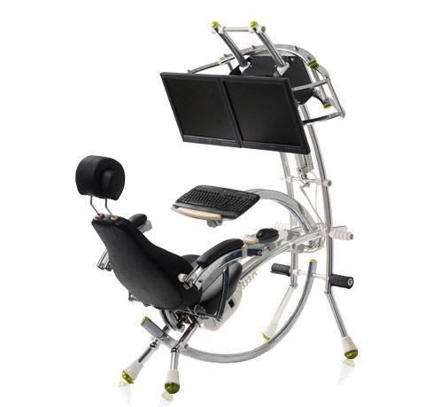 The Nethrone Is The Ultimate Workstation For Those Who Want - Pc desk and chair