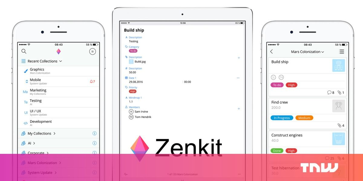 Zenkit's first mobile app could spell trouble for Trello