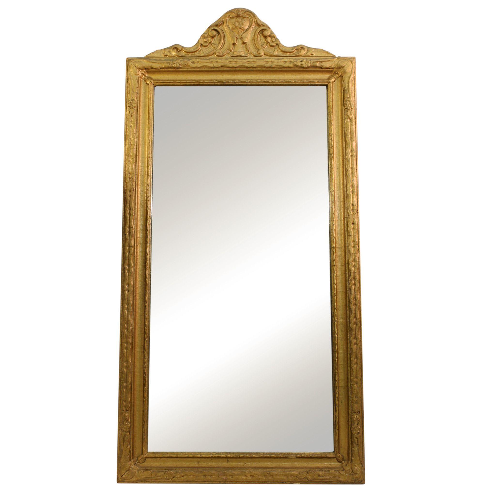 Vintage Gold Framed Mirror | Products | Pinterest | Gold framed ...