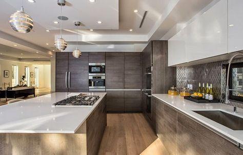 Casas Minimalistas y Modernas cocinas modernas Cocina Pinterest - casas minimalistas