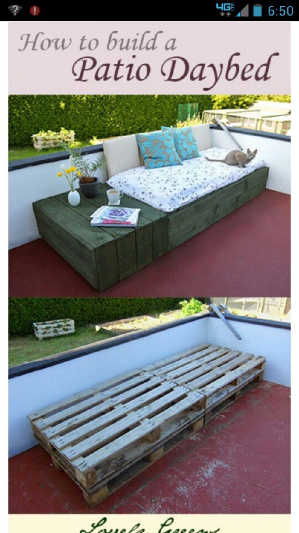 30 DIY Patio Ideas on A Budget   Erste eigene Wohnung und Balkon