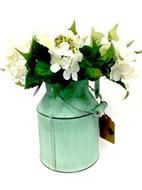 Mint Green Tin Churn great for the centre of the tables