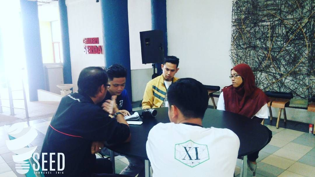 interview session from Berita Harian..   #SEEDS2016 #degreeshow #industrialdesign #beritaharian #finalyearstudent #UPM by seeds2016_