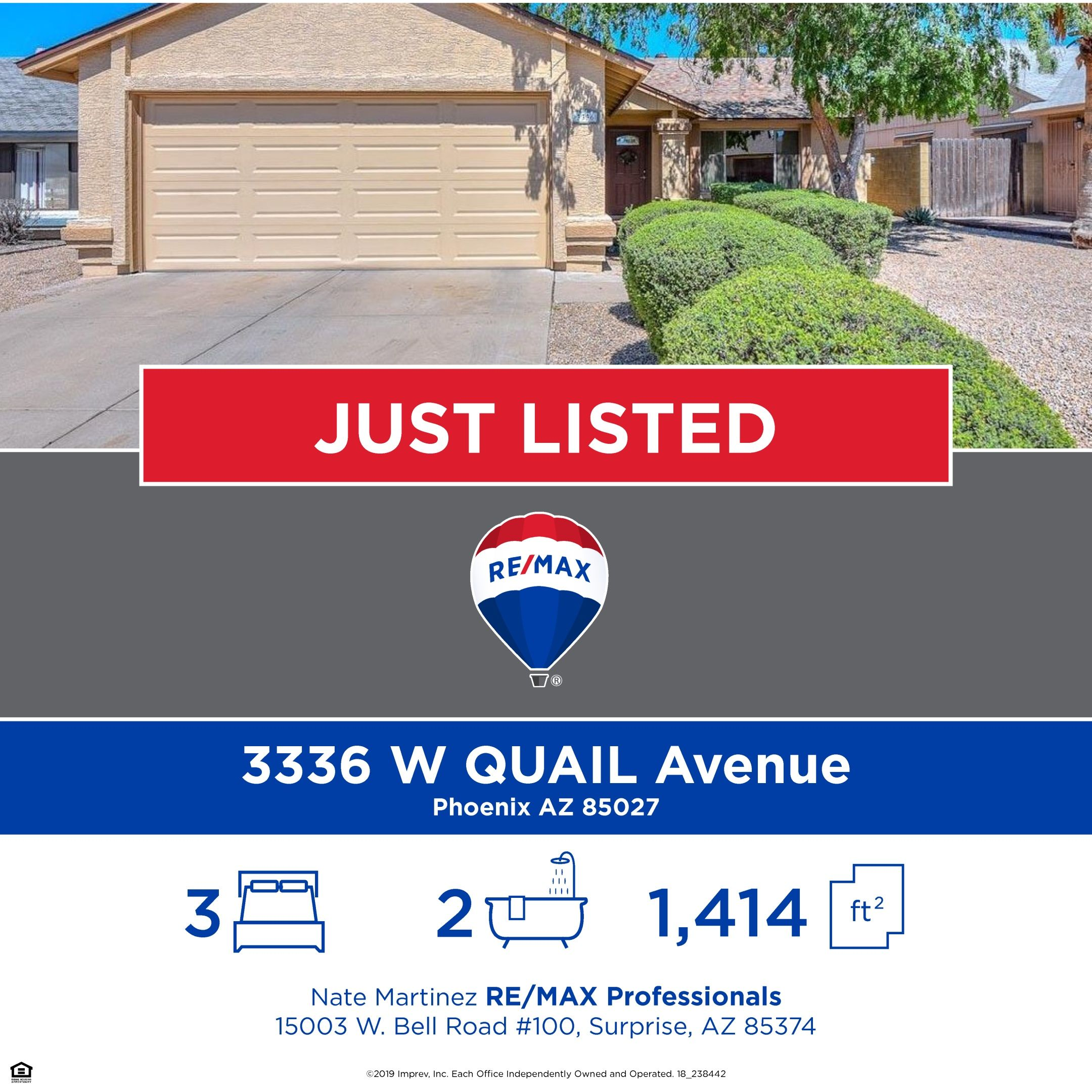Very Charming 3 Bedroom 2 Bath Home With A Great Location In Deer Valley Village Phoenix Arizona Near The 101 I 17 Shopping Fenced In Yard Deer Valley Homes Curb Appeal
