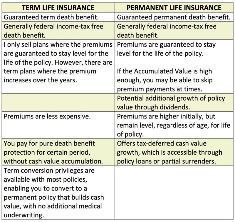 Two Types Of Life Insurance Term Vs Permanent Life Insurance Insurance Permanent Life Insurance Life Insurance Facts Life Insurance Beneficiary