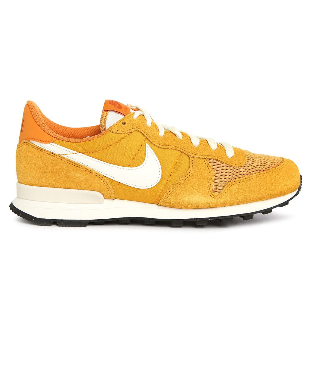 brand new e35d6 1807b Nike   Yellow Internationalist Curry Suede mesh Sneakers for Men   Lyst