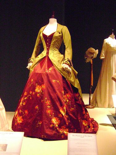 The Phantom of the Opera (2004) #CostumeDesign: Alexandra Byrne worn by Minnie Driver as Carlotta