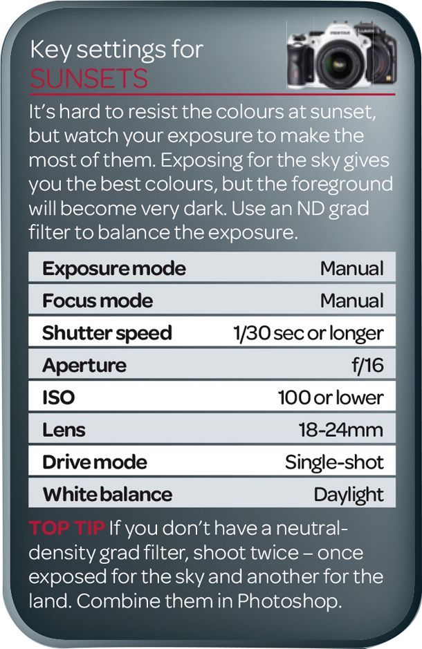 The best camera settings for sunset photography ...