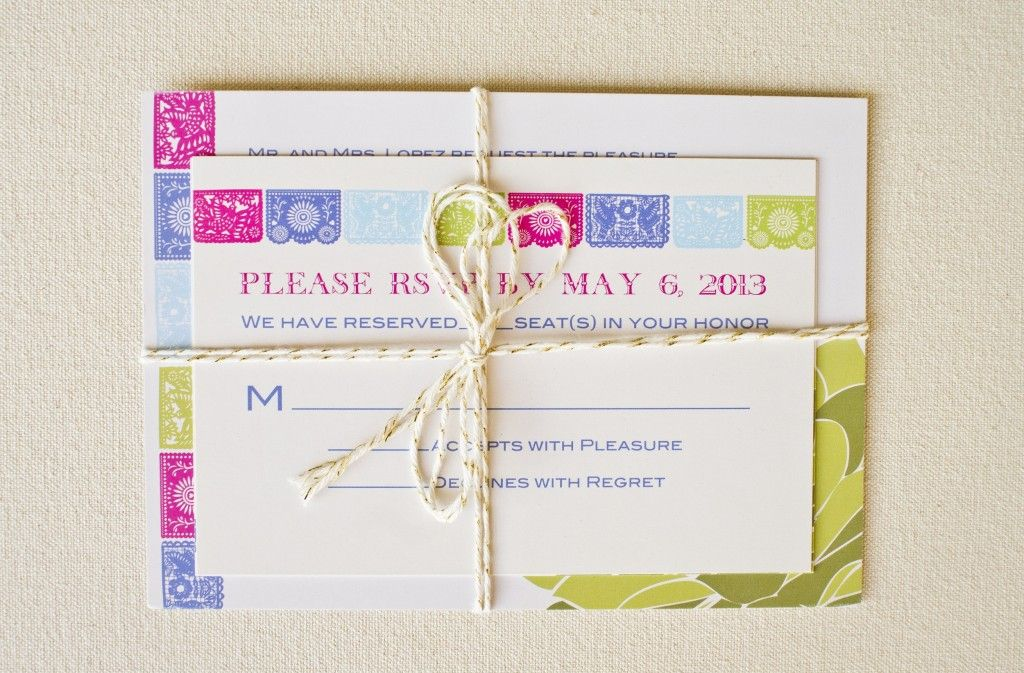 Love This Invitation Set by Peterson Design & Photography | Featured on A Bride's Life