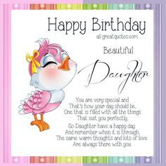 Happy birthday beautiful daughter pinterest daughter birthday daughter birthday wishes google search m4hsunfo