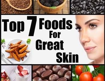 7 Foods that are great for your skin 786