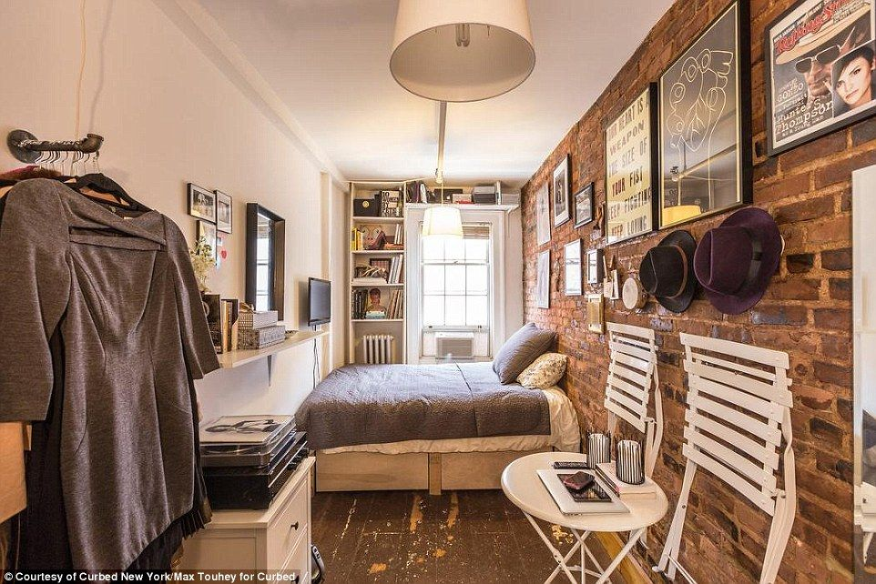 Inside One Woman S 90 Square Foot Ny Apartment Cuttest