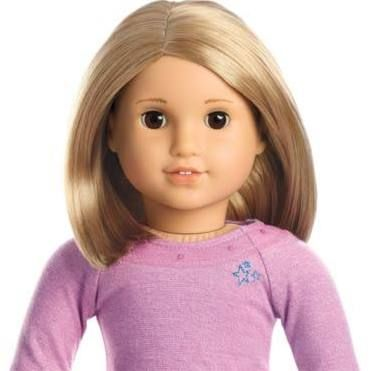 American Girl My American Girl Doll With Light Skin Short
