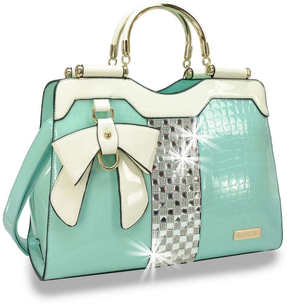 73308f5e3b Kitty Handbag - Mint