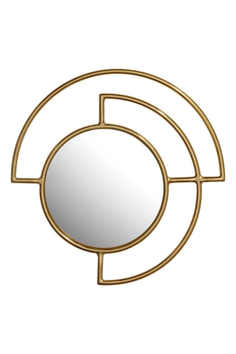 Runder Spiegel | Goldfarben | H&M HOME | H&M DE | H&M - best of the ...