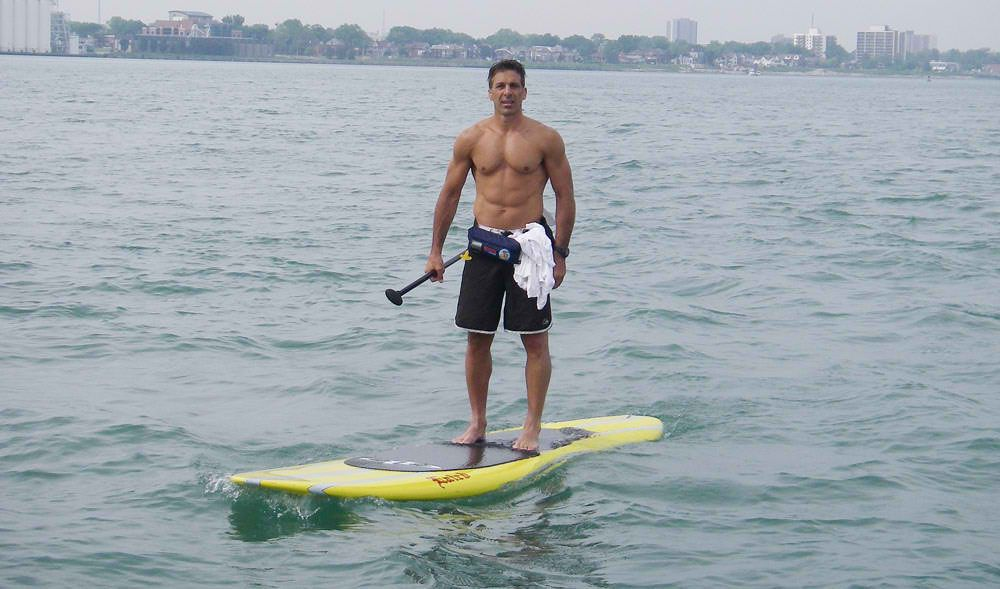 f68948bda4a Chris Chelios - Red Wing and Blackhawks - Can I paddle? *wink ...