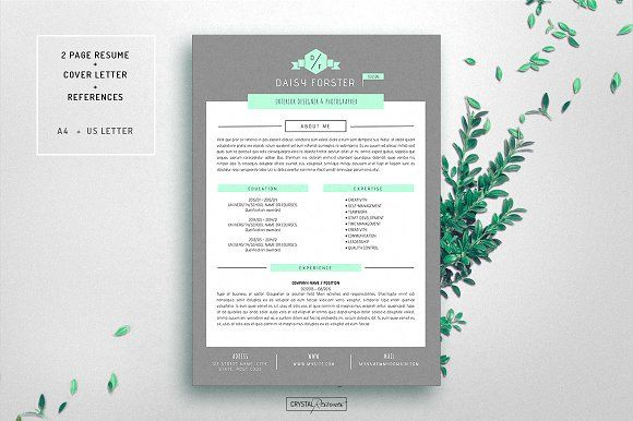Resume CV Template for Word Cv template and Resume cv - microsoft word resumes templates
