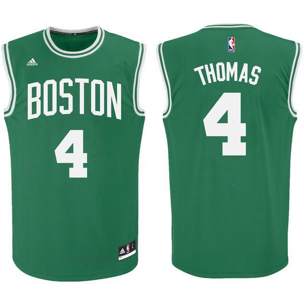 buy online da194 1eea8 adidas Isaiah Thomas Boston Celtics Kelly Green Replica ...