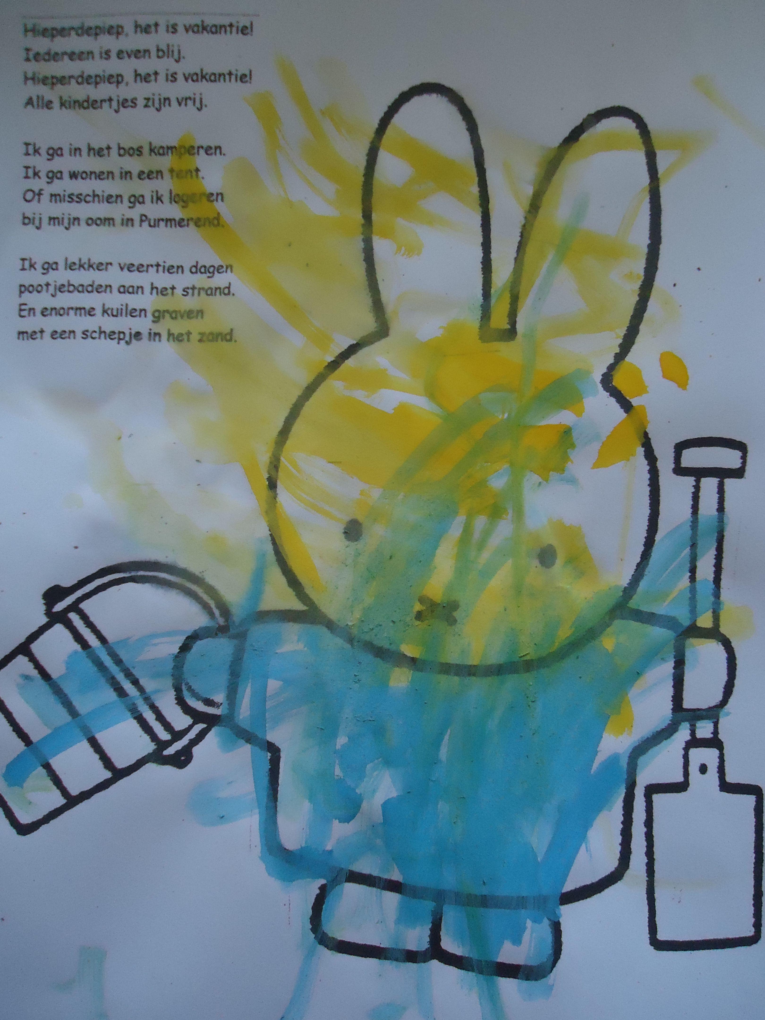 Kleurplaat Met Tekst Leuk Om Mee Te Geven Bij De Start Van De Vakantie Zomerknutsels Zomerknutsels Kinderen Kleurplaten
