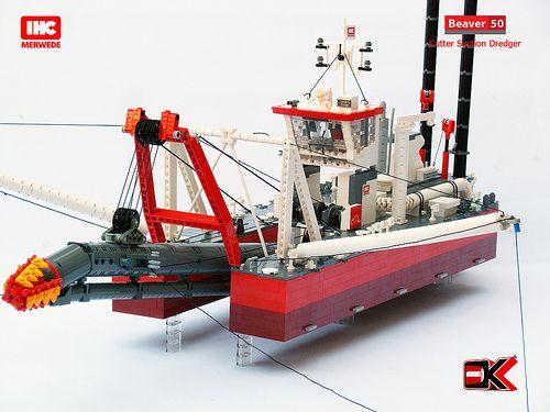 Lego Dredge Nautical Lego Join Group Lego Lego Boat Lego Ship