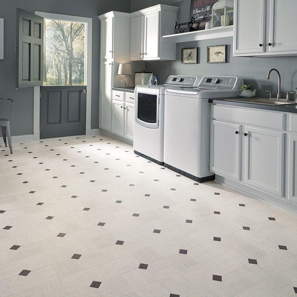 Art Deco layout design inspiration resilient vinyl floor