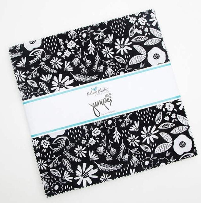 Juniper 10 Stacker Layer Cake Riley Blake Designs 10 8330 42 42 10 X 10 Fabric Squares Black And White F Riley Blake Designs Riley Blake Fabric Squares