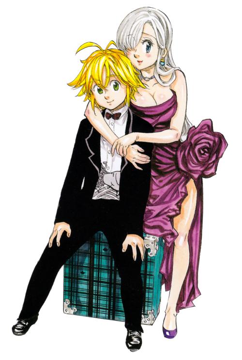 Photo of Meliodas e Elizabeth Liones || Nanatsu no Taizai